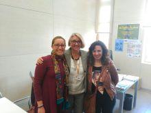 Reunión con la Concejala Sonsoles,,Ana Alabort Plataforma y Mar Ortega secretaría AAAFEXA
