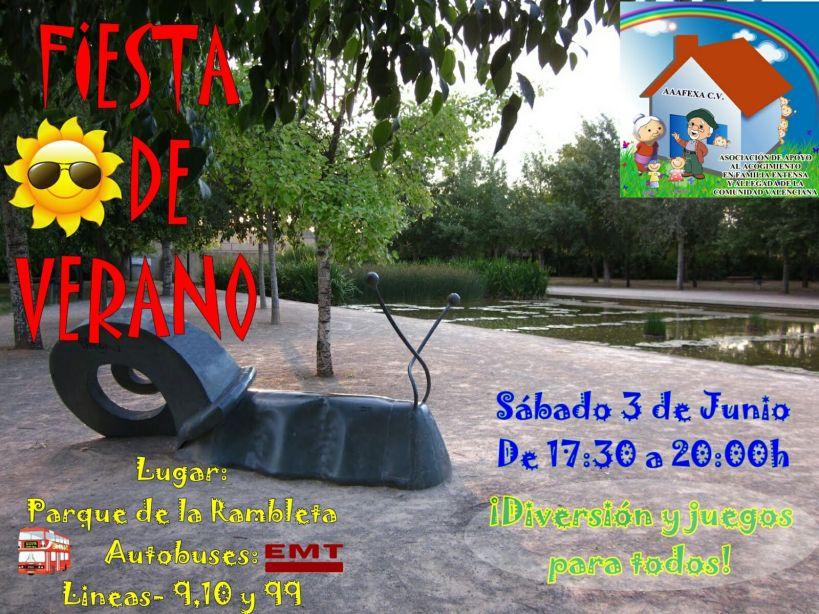 Fiesta de verano junio 2017